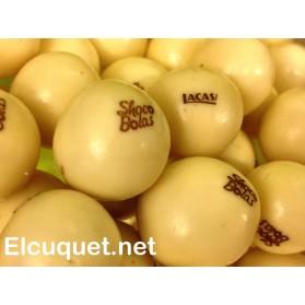 Chocobolas blancas pack de 250 grs