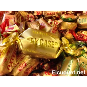 Caramelo con piñones El caserío