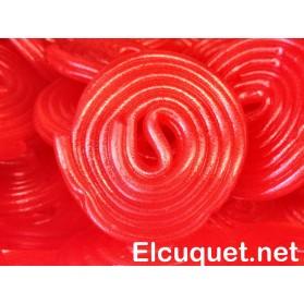 Discos de regaliz roja pack 250 grs