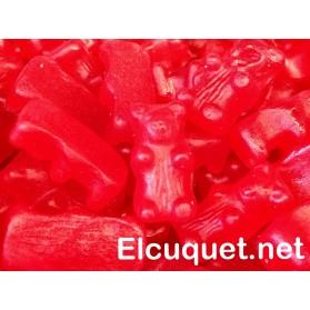 Ositos de regaliz roja pack 250 grs