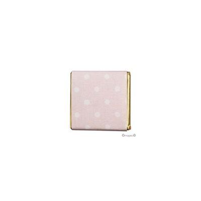 Napolitana choc. leche topos rosa, caja de 150un.*