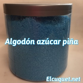 Algodón azúcar piña