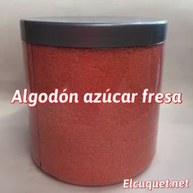 Algodón azúcar fresa