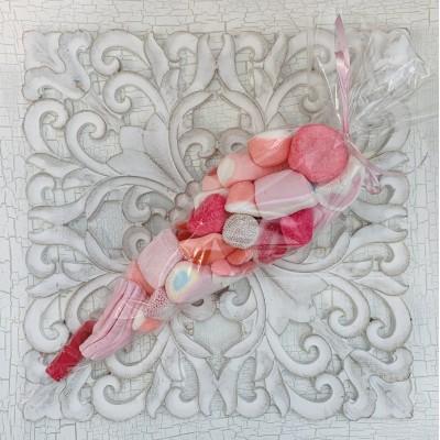 Bolsa chuches rosas