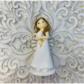 Figura comunión niña con paloma