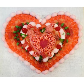 Tarta relieve corazon grande n2