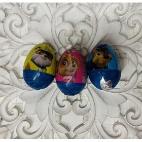 pack 3 huevos chocolate patrulla canina