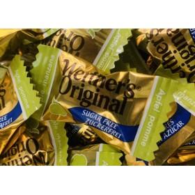 Werther's manzana caramelizada,sin azúcar,bolsa 250grs