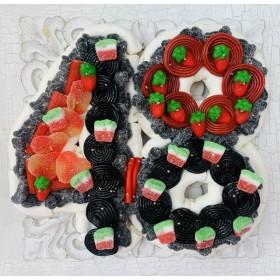 Tarta chuches número 48 mini