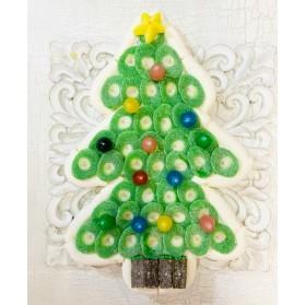 Tarta chuches árbol Navidad