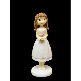 Niña comunión vestido corto 16,5 cm