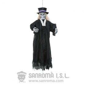 Esqueleto novio colgante 90 cm.