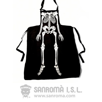 Delantal Esqueleto